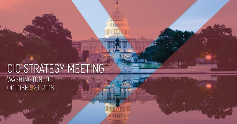 Launching the CIO Strategy Meeting Washington DC 2018