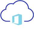 Cloud with Office 365 Logo