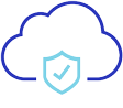 Cloud with checkmark