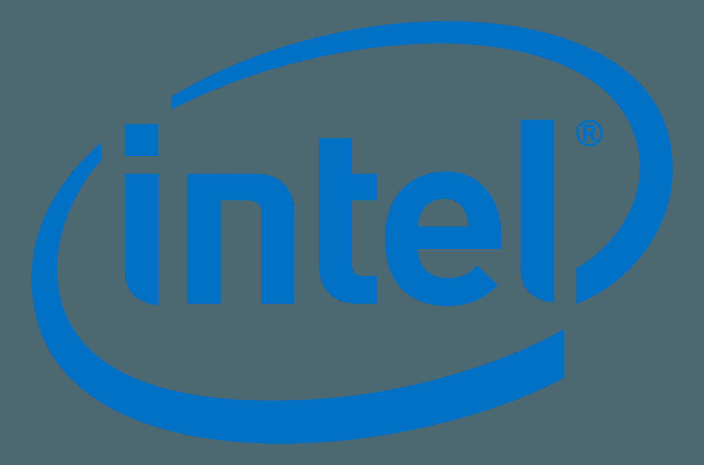 Intel website homepage