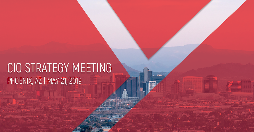 Introducing 2019 Sponsors for the CIO Strategy Meeting in Phoenix, AZ