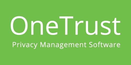 OneTrust website homepage