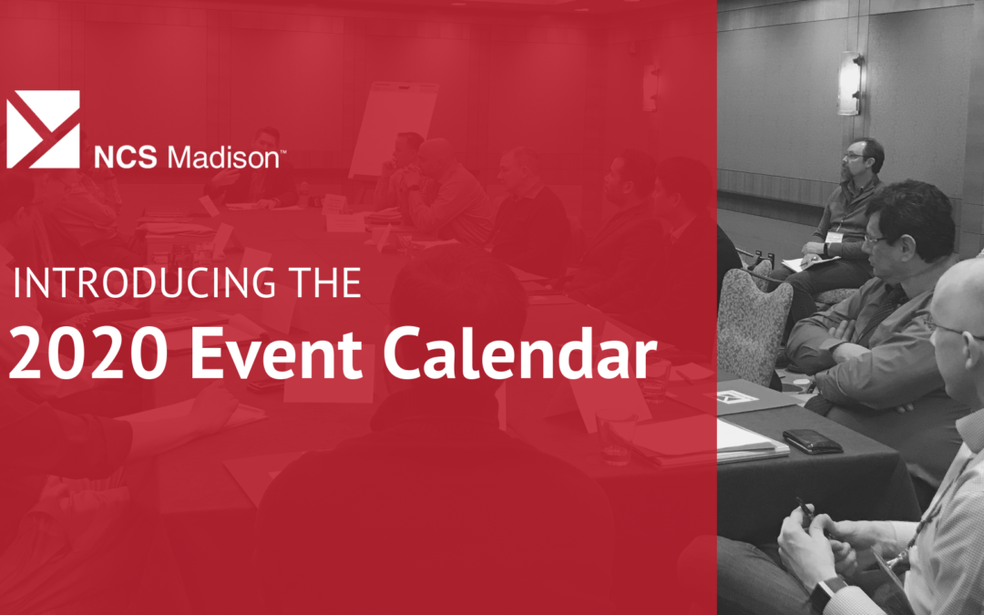 NCS Madison 2020 Event Calendar