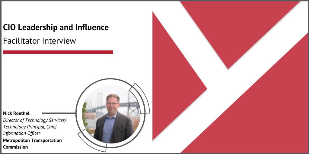 CIO Leadership and Influence with Nick Roethel