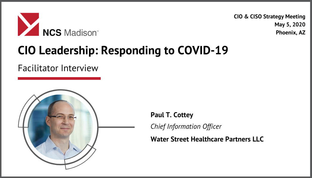 The CIOs New Roles: Responding to COVID-19 and Moving Forward